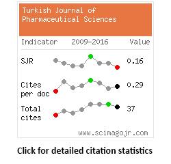 Turkish Journal Of Pharmaceutical Sciences